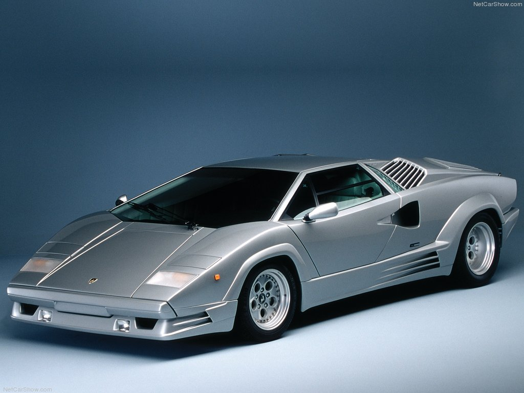 Fab Wheels Digest F W D 1988 Lamborghini Countach 25th Anniversary