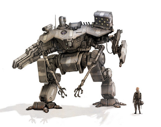 UN assault mech por flyingdebris