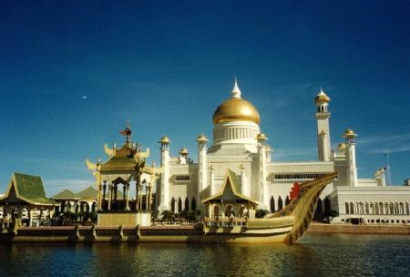 Istana Nurul Iman Palace on ough
