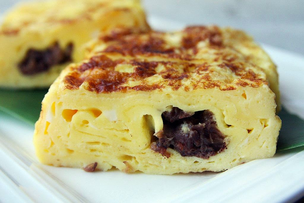Oxtail Omelette Japanese Style Magosaburo
