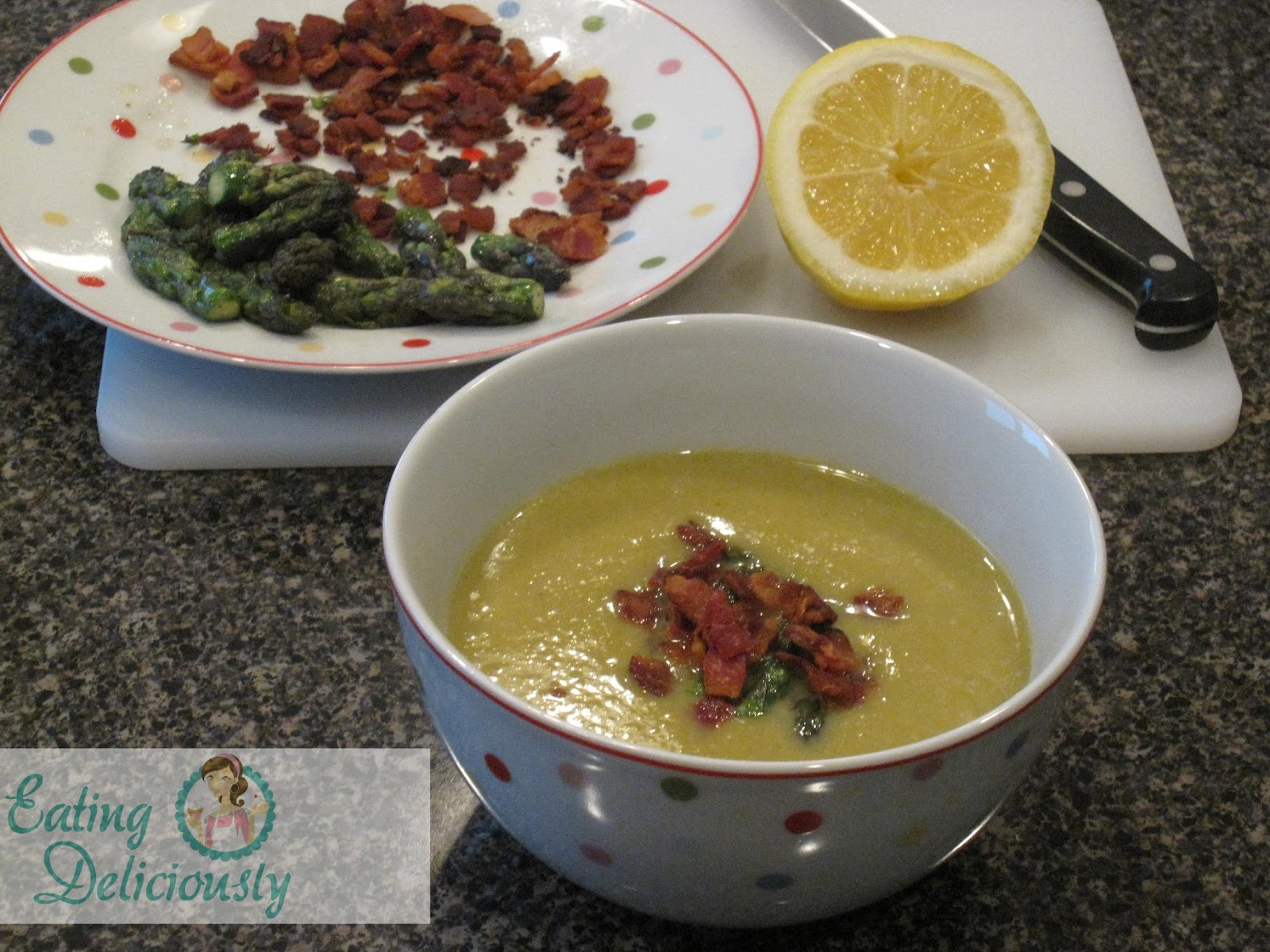 Creamy Asparagus Soup With Morel Mushrooms And Ramps Recipe ...