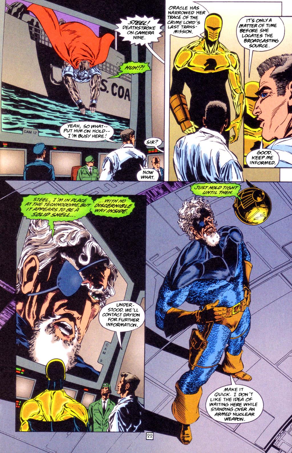 Deathstroke (1991) Issue #49 #54 - English 22