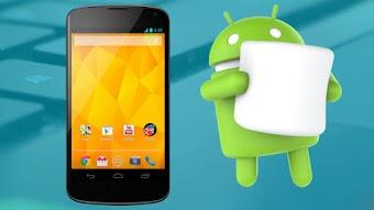 Instale a ROM AOSP Android 6.0 Marshmallow No Nexus 4