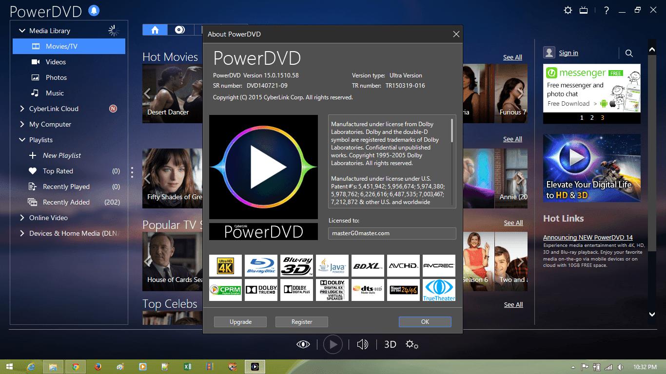 CyberLink PowerDVD Ultra 15 Terbaru Full Version