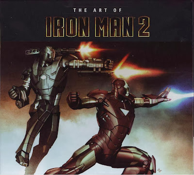 Between Books - The Art of Iron Man 2