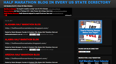 Half Marathon US BLOG Directory in Every State