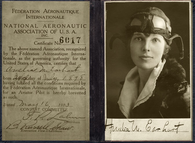 Mommy Maestra: In Memory of Amelia Earhart