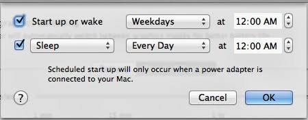 Schedule Your Mac to Start Up or Shut Down