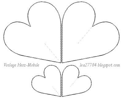 Kathrins Blog: DIY Herz-Mobile - (nicht nur) zum Valentinstag