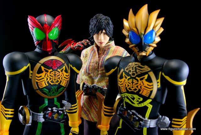 BM Kamen Rider OOO - Eiji, TATOBA and LATORARTAR Combos | Figure Maniac