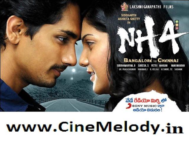 NH 4 Banglore To Chennai Telugu Mp3 Songs Free  Download -2013