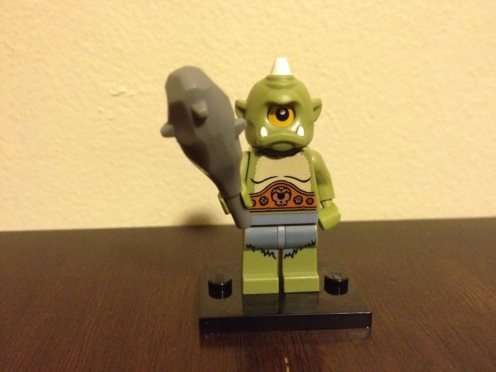 LEGO OGRE - Building Ogre Miniatures with LEGO Bricks