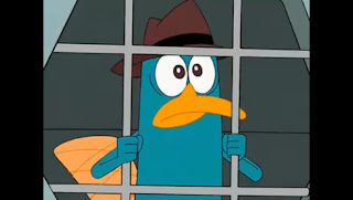 Perry ornitorrinco cárcel