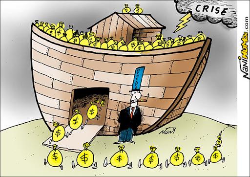 arca de noé. Crise mundial