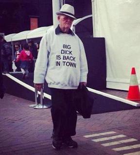 funny picture: grandpa big d*ck