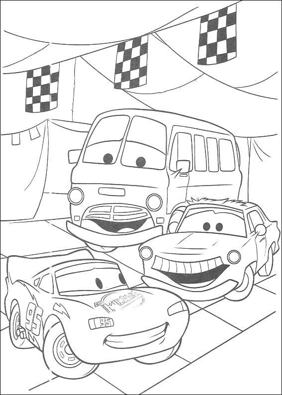 Colorear cars