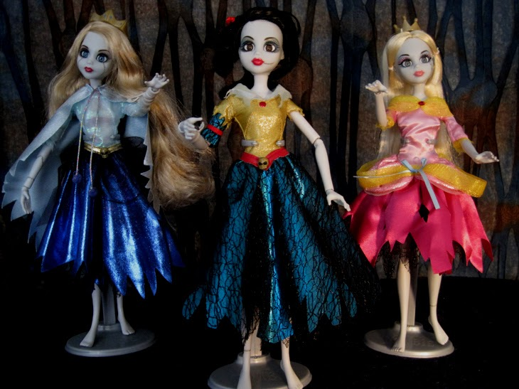 Once Upon a Zombie dolls.