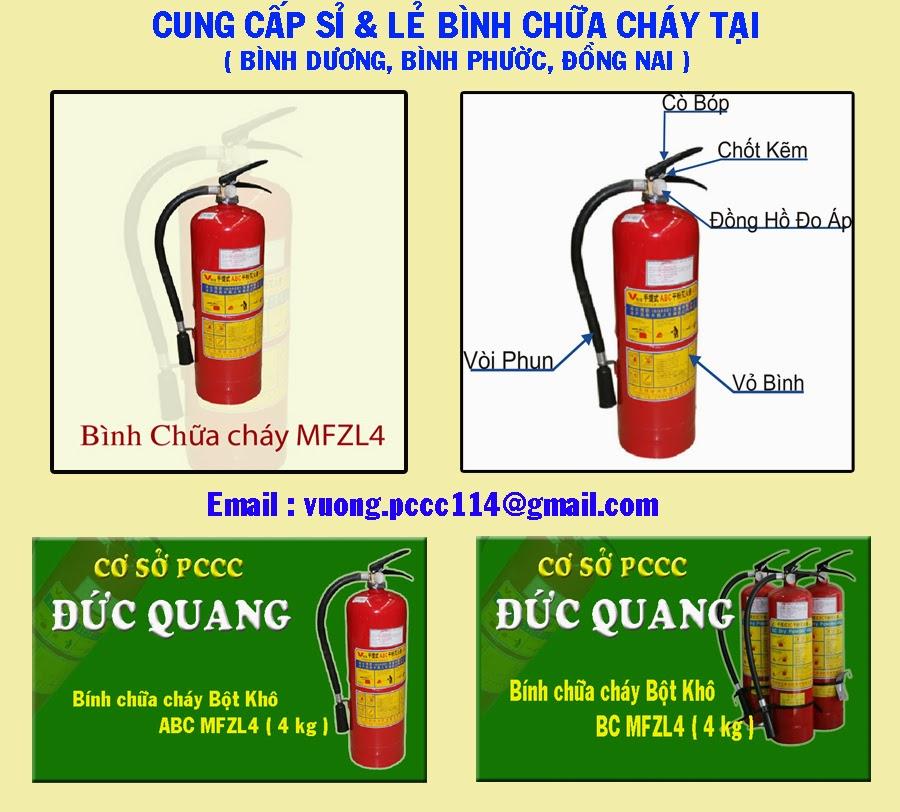 Bình chữa cháy bột ABC MFZ4