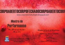 "I Mostra ""corpoabertocorpofechado"" - 2011"