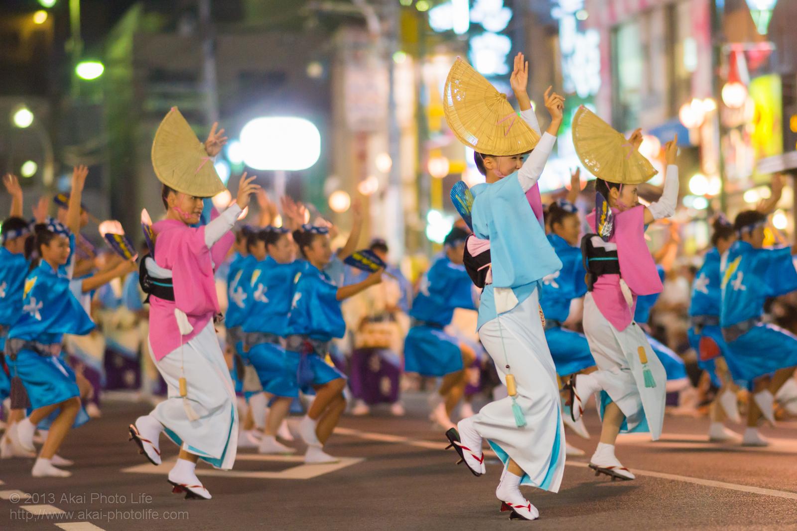 踊れ西八夏まつり、菊水会菊水連の女踊り