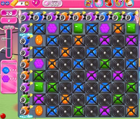 Candy Crush Saga 555