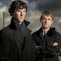 Cumberbatch and Freeman
