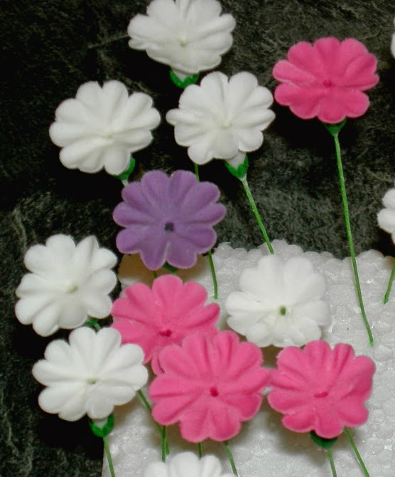 sugar paste primrose tutorial