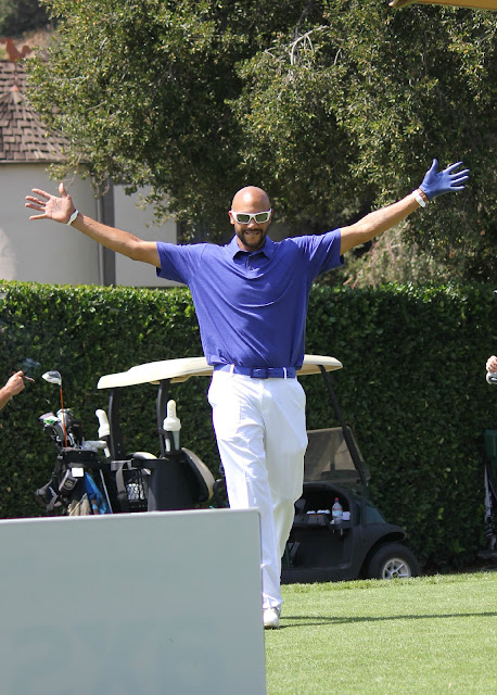Stephen Bishop plays golf at The Academy of Television Arts & Sciences Foundation's 13th Annual Primetime Emmy® Celebrity Tee-Off, played at Oakmont Country Club in Glendale, CA (September 10, 2012).