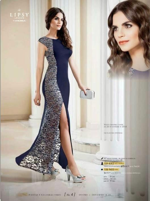 vestido azul de andrea OI 14-15