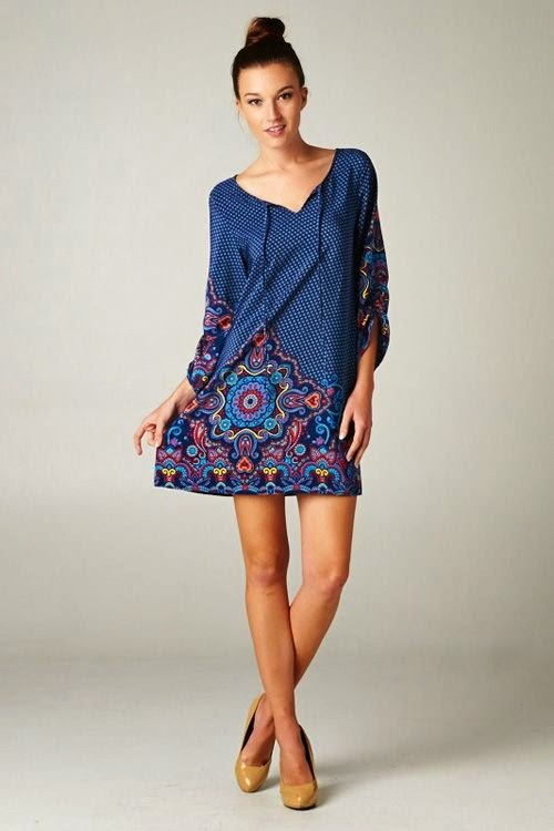 Sedona Tunic long blouse for lovely woman