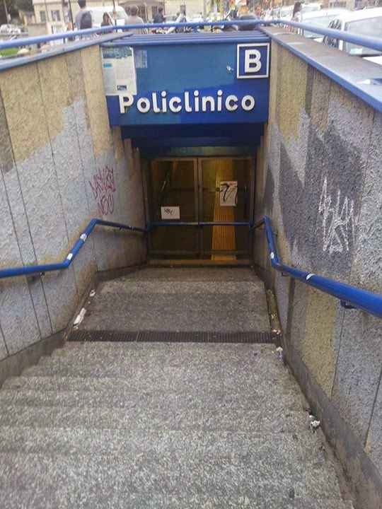 Metro B chiusa in fascia di garanzia