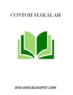 Contoh Makalah