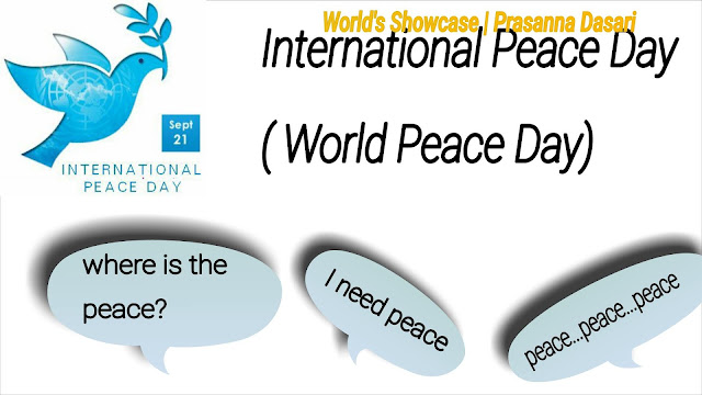 Peace Is Within You - International  Peace Day Spl.