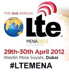 #LTEMENA April 29-30, 2012