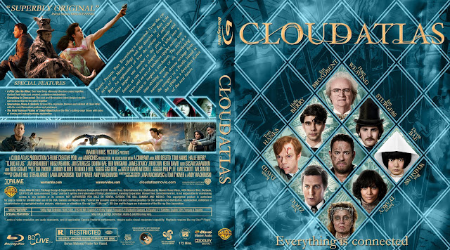 Capa Bluray Cloud Atlas