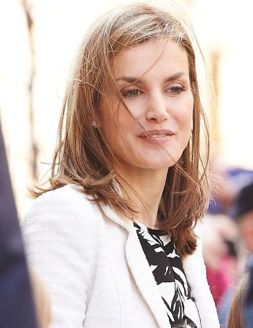 Queen Letizia of Spain and King Felipe of Spain, Queen Sofia of Spain, Princess Leonor of Spain and Princess Sofia of Spain