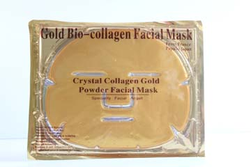Gold Bio Face Mask
