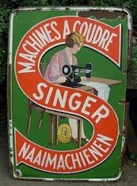 Singer 60 x 90 cm