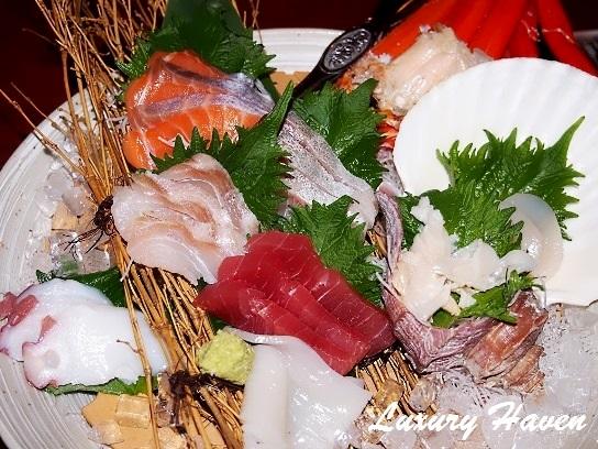 caretta shiodome hokkaido japanese restaurant sashimi platter