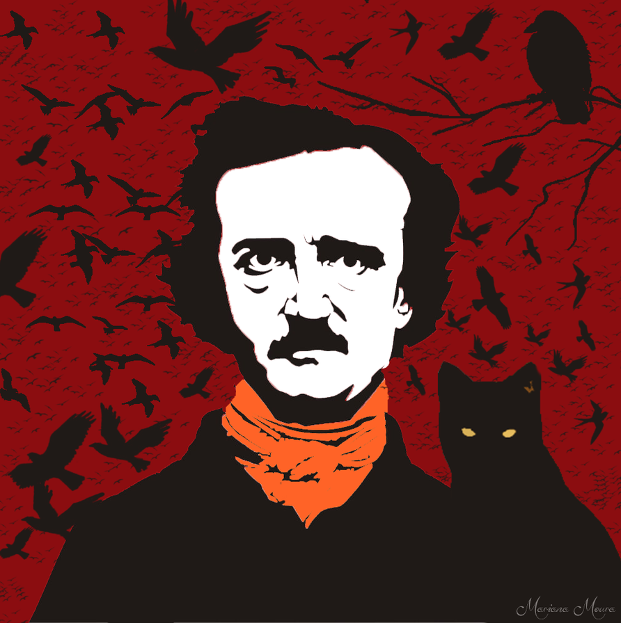 edgar allan poe 6 9 mournful facts about edgar allan poe's the raven edgar allan poe's spooky raven enters the narrator's house 6 the raven // edgar allan poe.