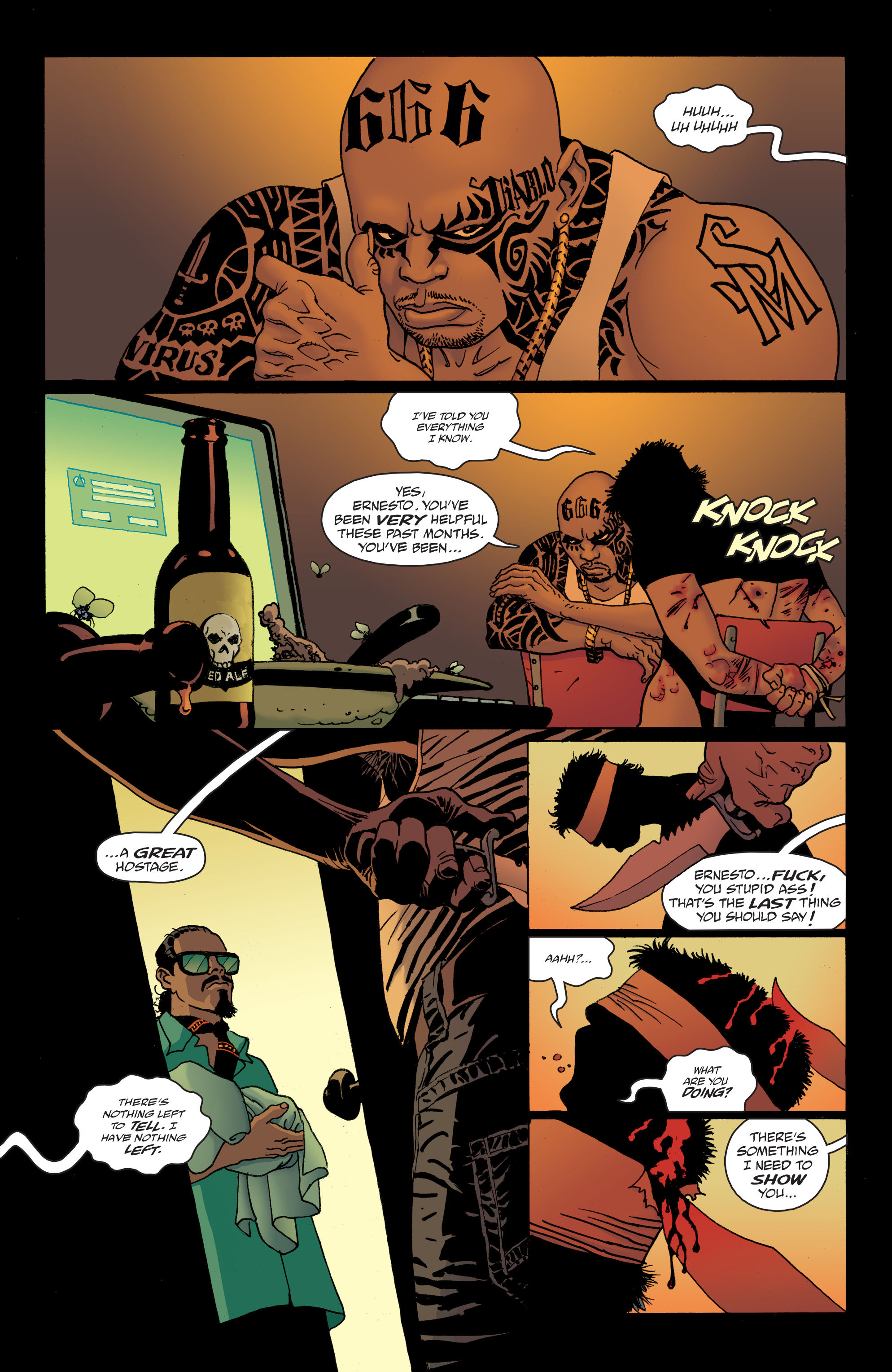 100 Bullets: Brother Lono Full Page 10