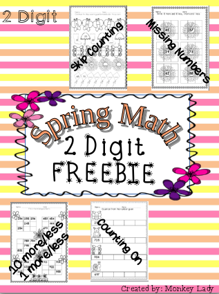 http://www.teacherspayteachers.com/Product/FREEBIE-Spring-Math-Worksheets-1214700