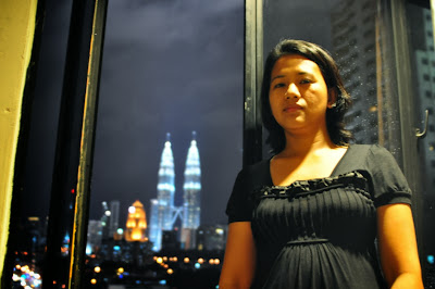 View of Petronas Towers at Cititel Express Hotel