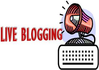 Live Blogging
