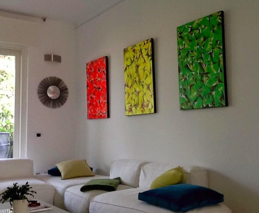 interior relooking arredare con i quadri