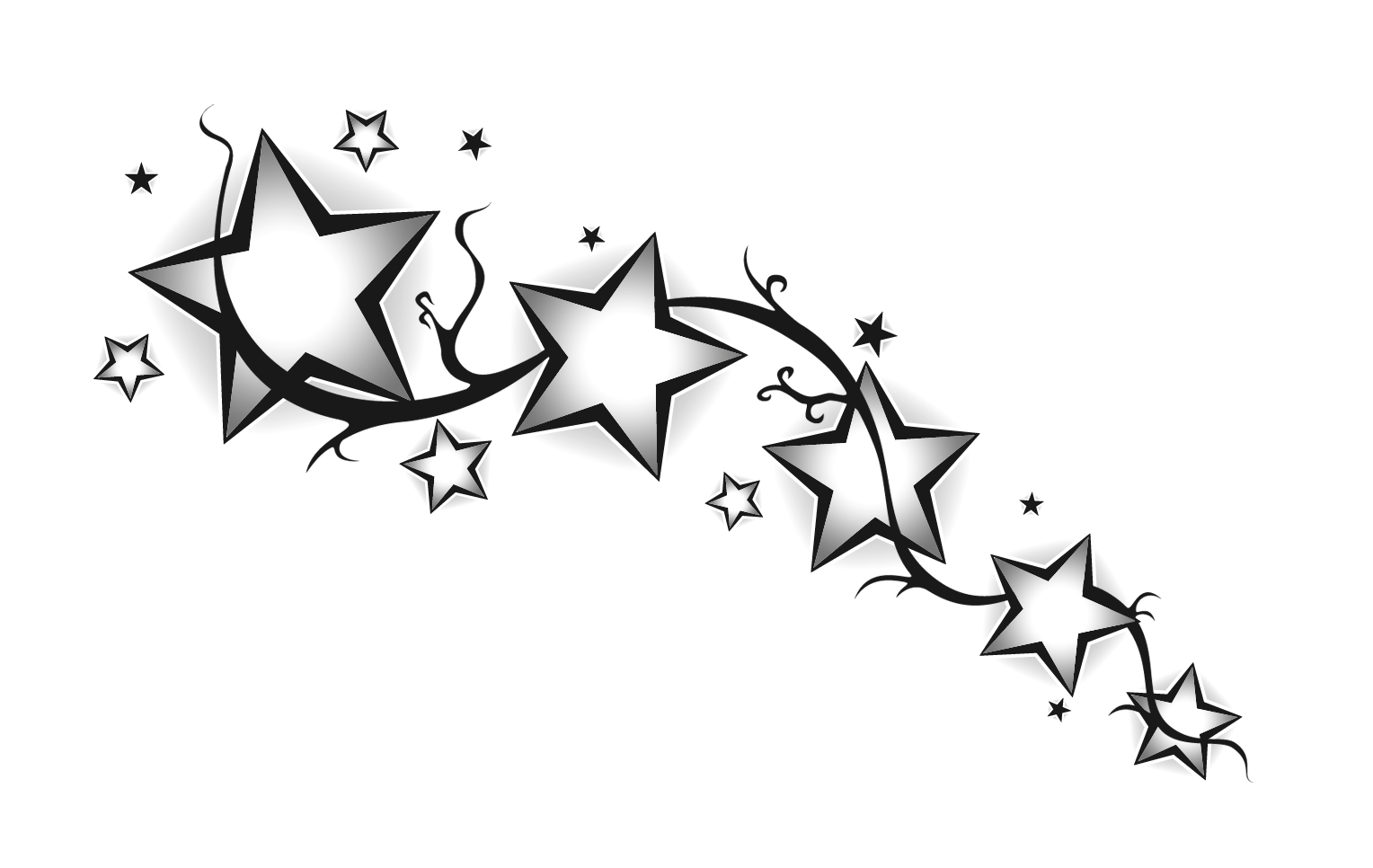 Tribal Star Tattoo and what is Common Meaning