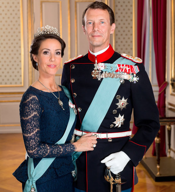 New Official Photos Of Princess Marie And Prince Joachim