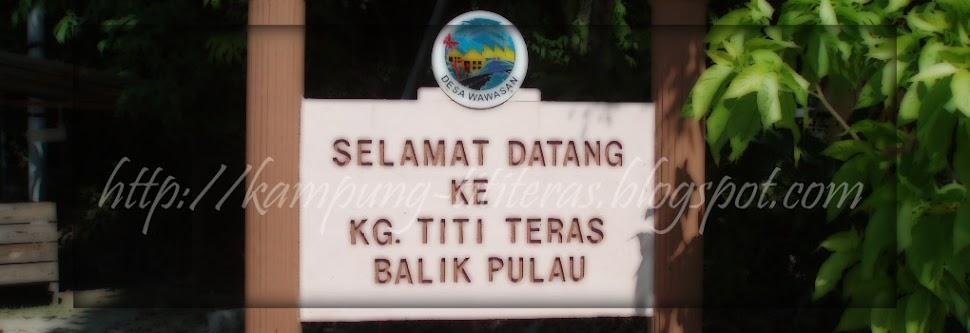Kampung Titi Teras, Balik Pulau