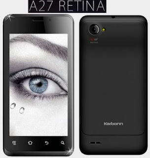 Karbonn Retina A27 price in India picture