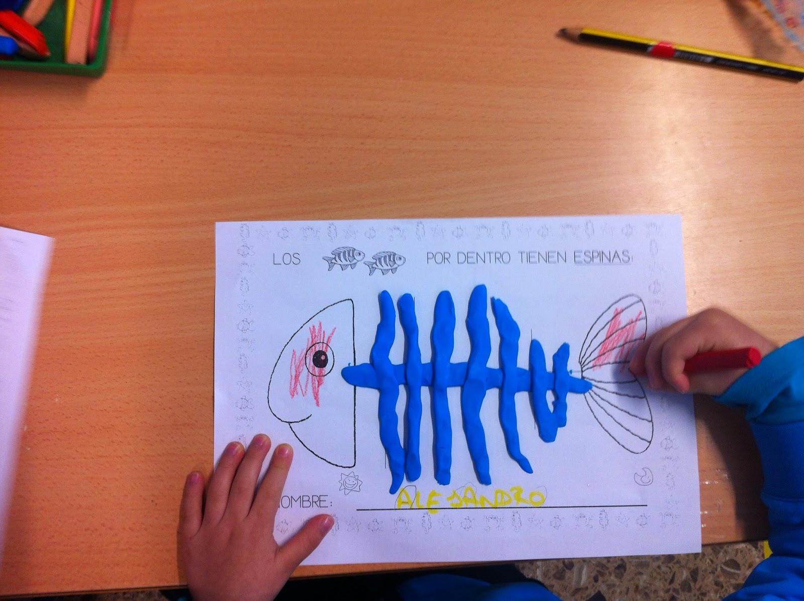 APRENDIENDO JUNTOS: proyecto los peces